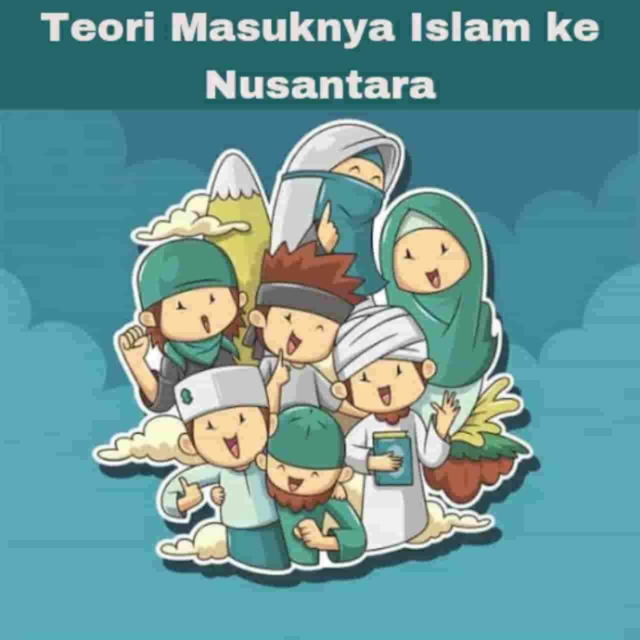 Teori masuknya Islam ke Nusantara