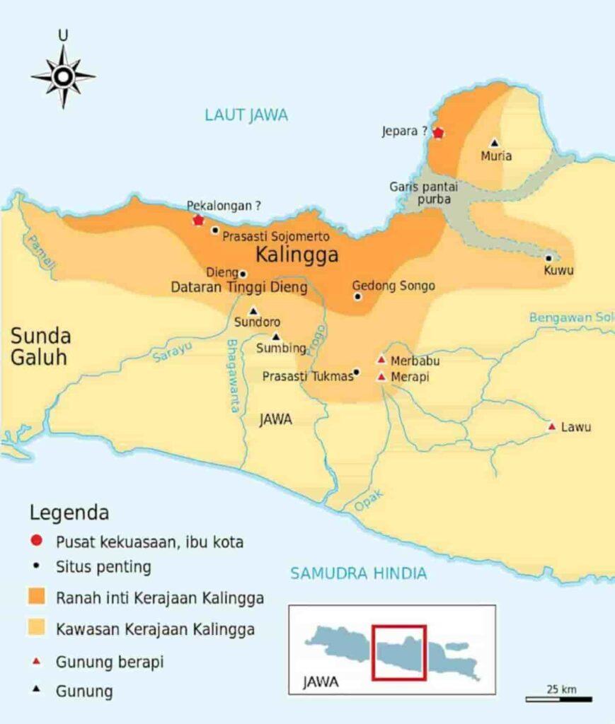 Kerajaan Kalingga, Ratu Sima