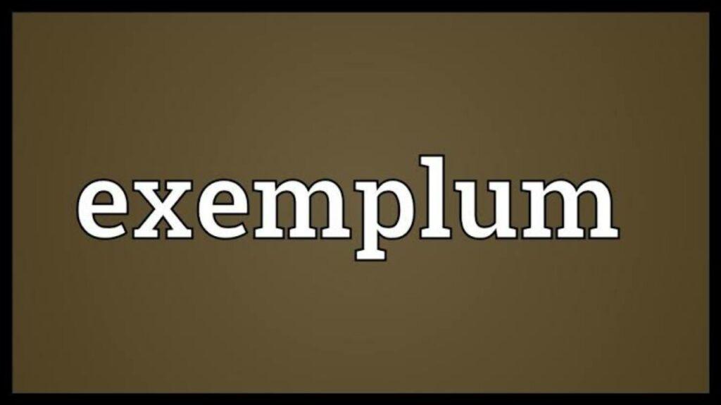 Menulis teks Eksemplum