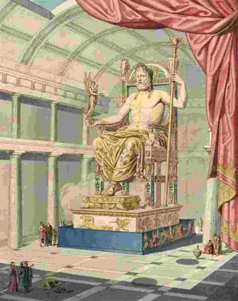 Patung Dewa Zeus (Yunani