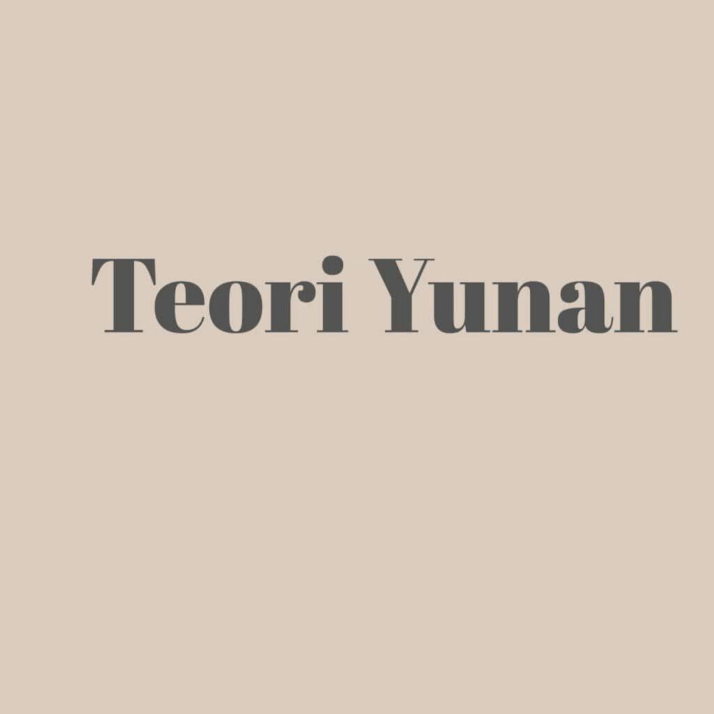 Teori yunan, leluhur bangsa Indonesia
