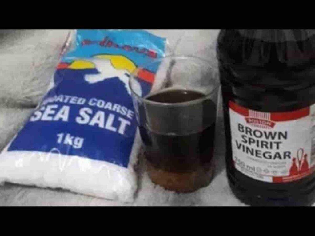 Cuka dan garam