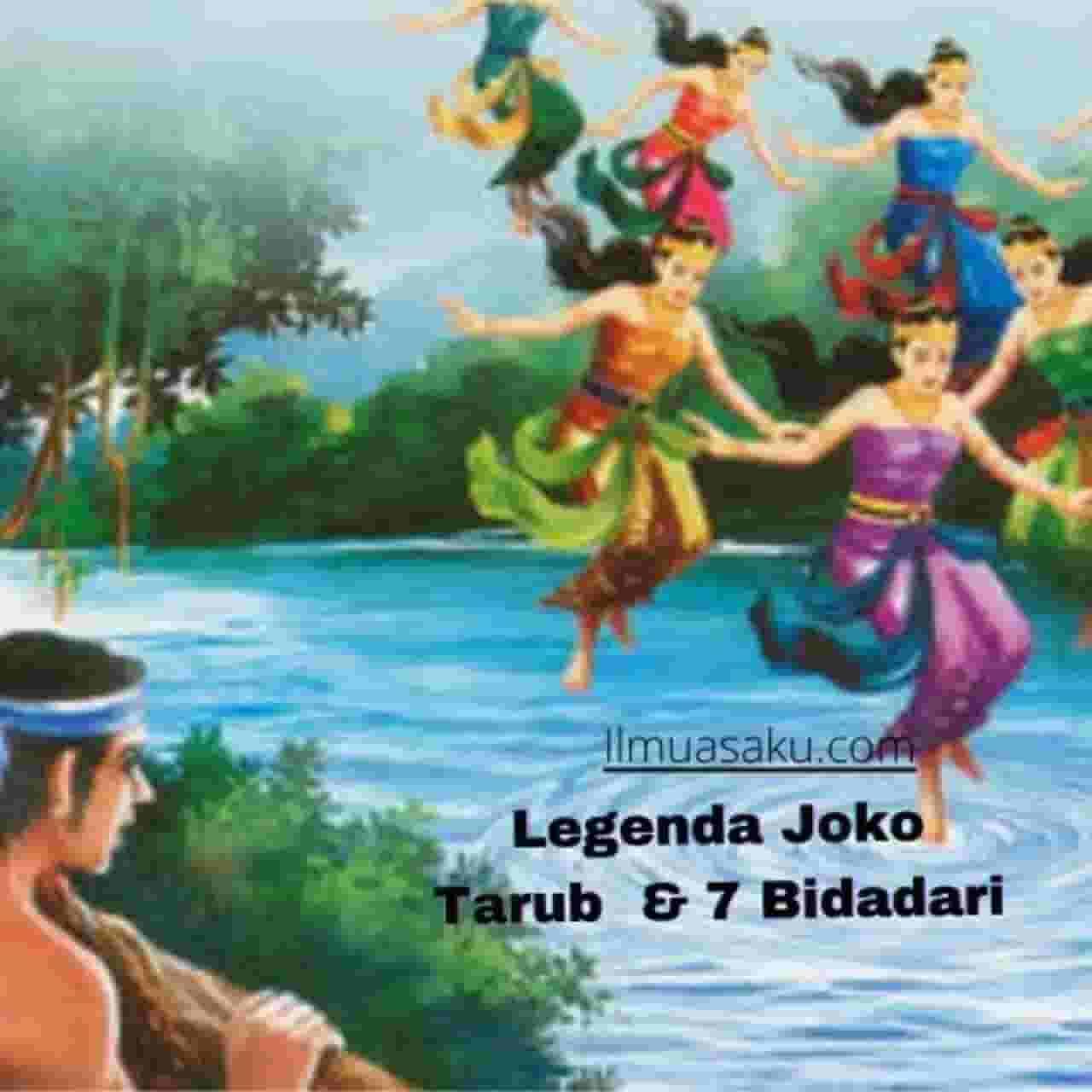 Legenda Joko Tarub dan 7 Bidadari
