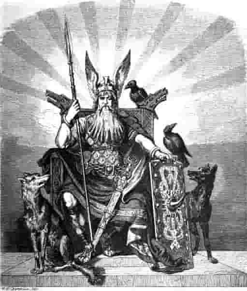 Odin, Dewa Mitologi Nordik