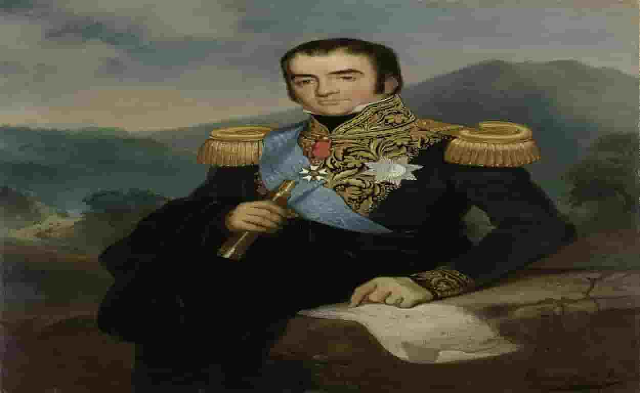 1280px Posthumous Portrait of Herman Willem Daendels Governor General of the Dutch East Indies Rd Saleh copy 1250x768 min